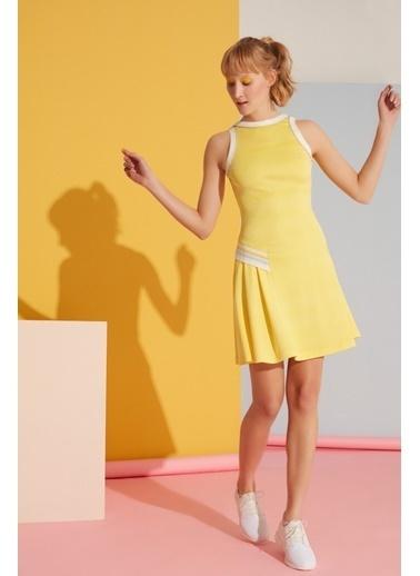 GIZIA Elbise Sarı